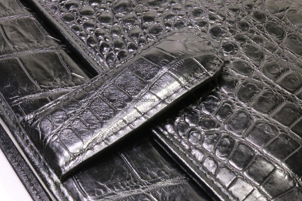 Crocodile skin briefcase 296 Foto 12