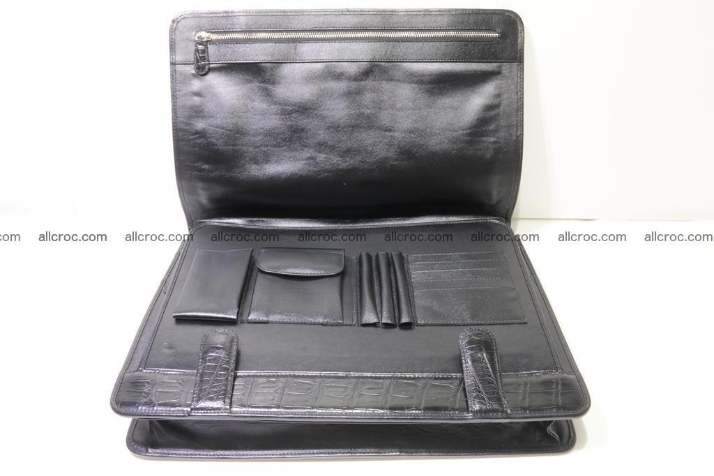 Crocodile skin briefcase 296 Foto 15