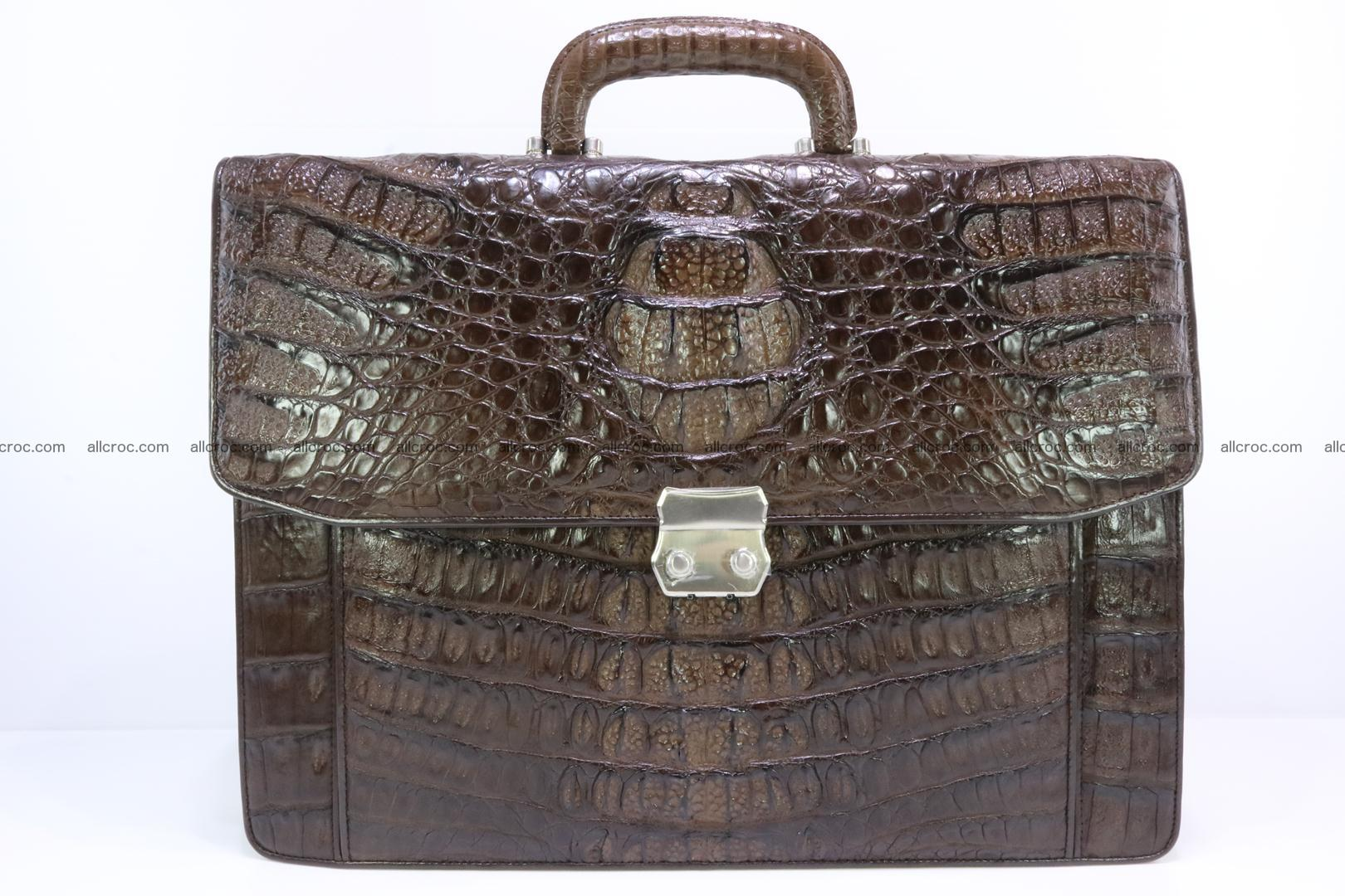 Crocodile skin briefcase 287 Foto 0