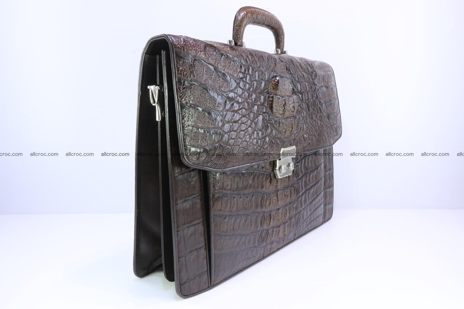 Crocodile skin briefcase 287 Foto 1