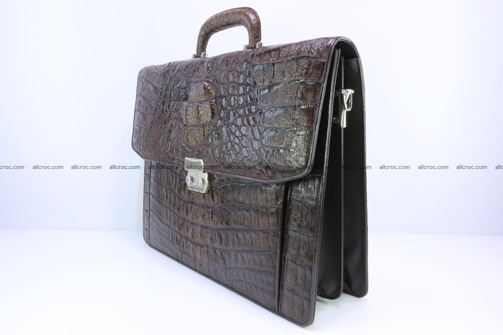 Crocodile skin briefcase 287 Foto 2