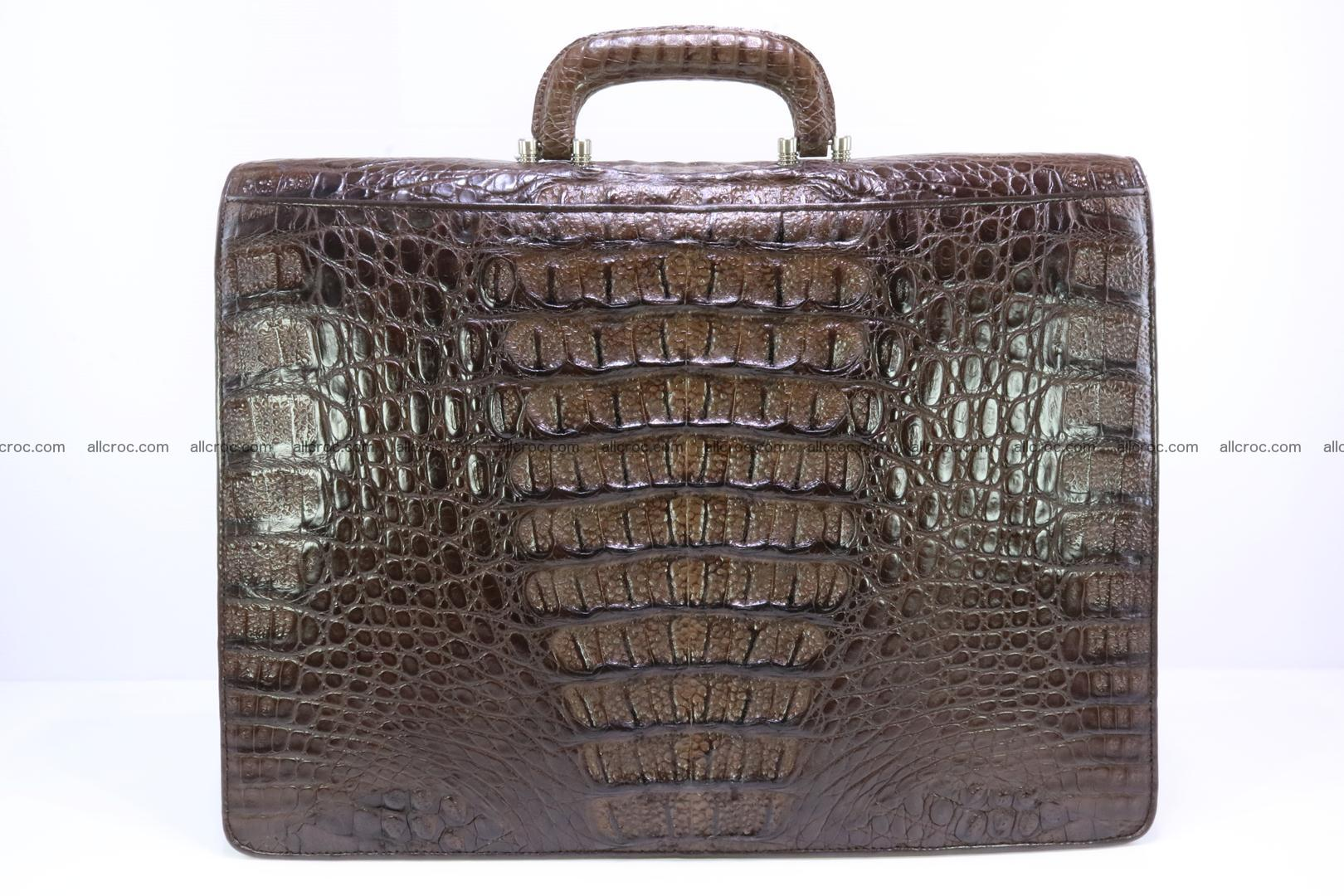 Crocodile skin briefcase 287 Foto 7