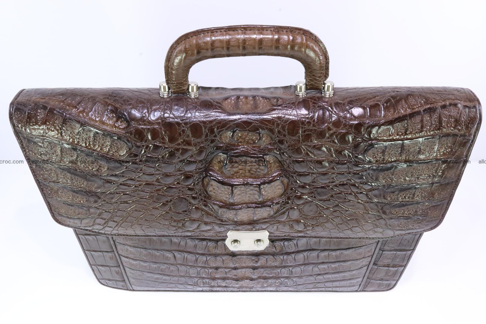 Crocodile skin briefcase 287 Foto 3