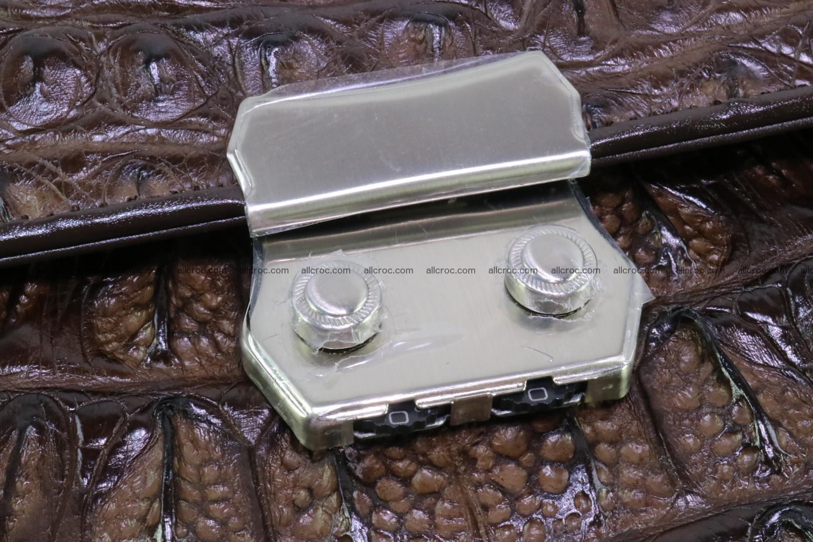 Crocodile skin briefcase 287 Foto 6