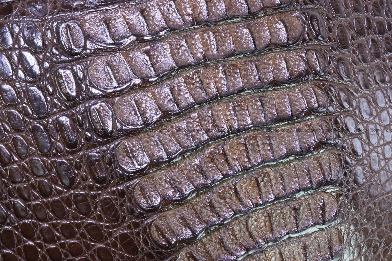 Crocodile skin briefcase 287 Foto 8