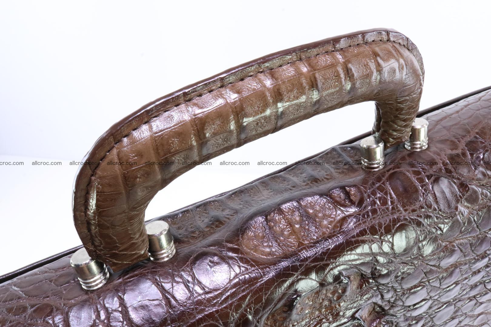 Crocodile skin briefcase 287 Foto 5
