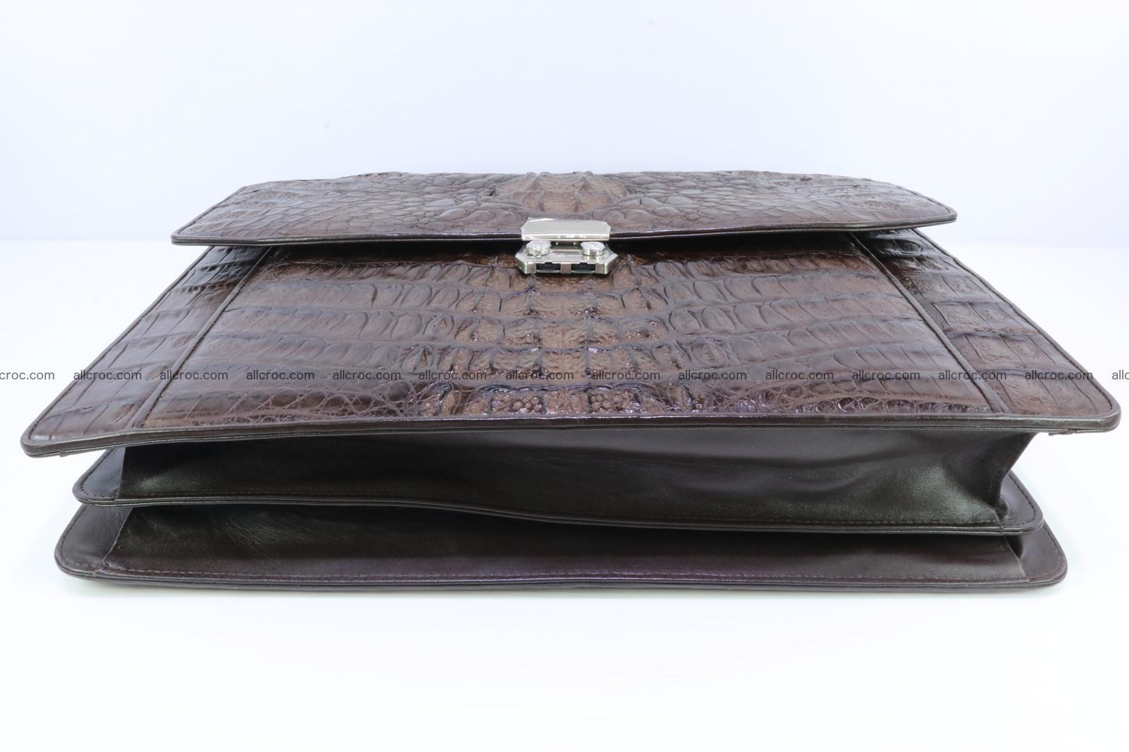 Crocodile skin briefcase 287 Foto 12