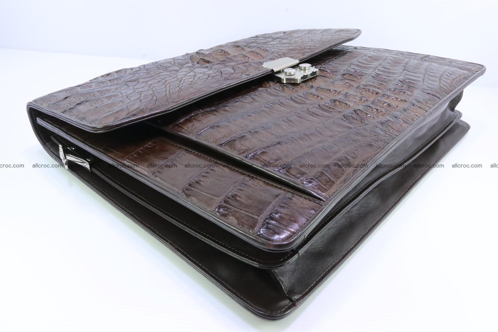 Crocodile skin briefcase 287 Foto 13