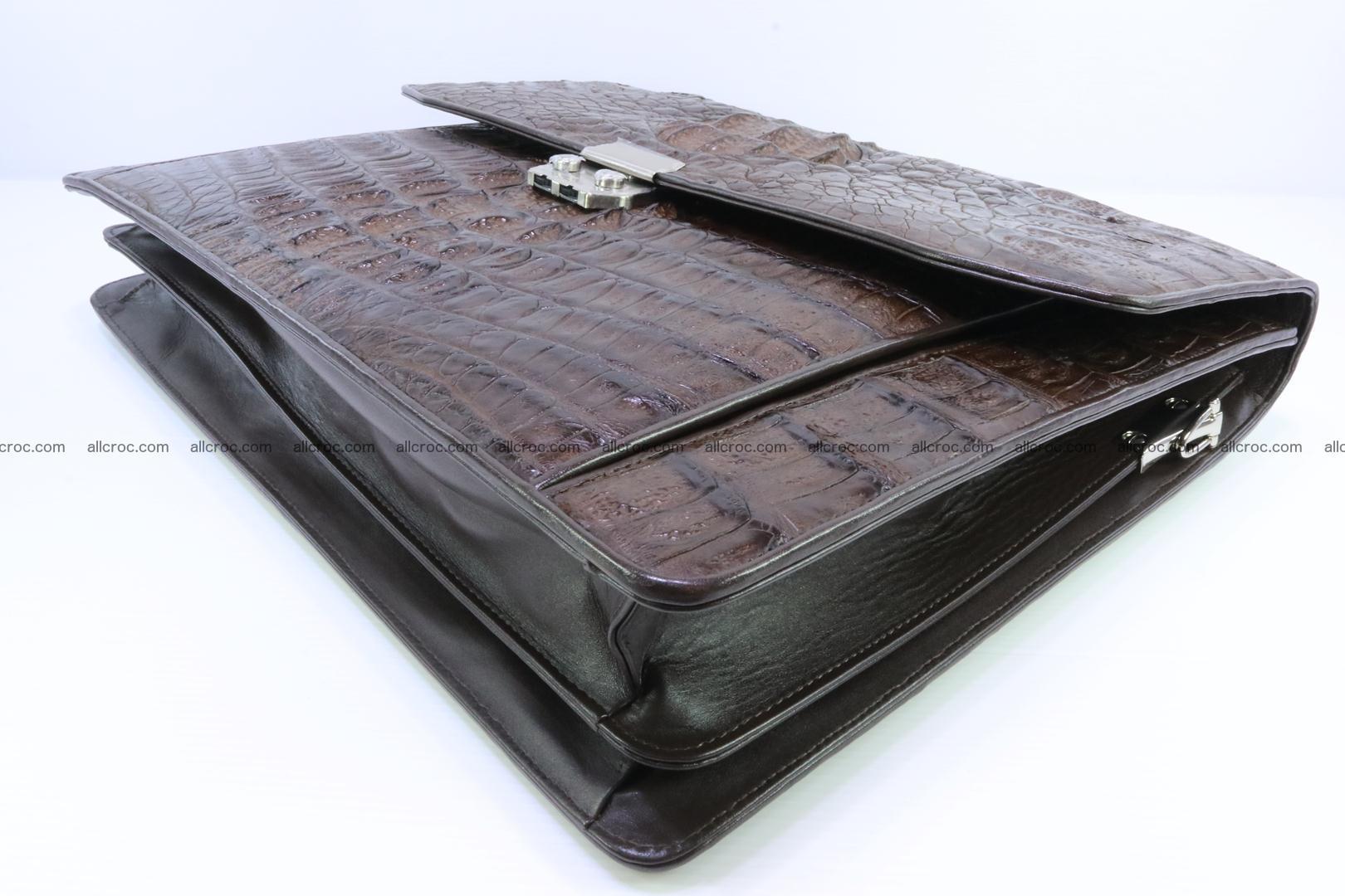 Crocodile skin briefcase 287 Foto 11
