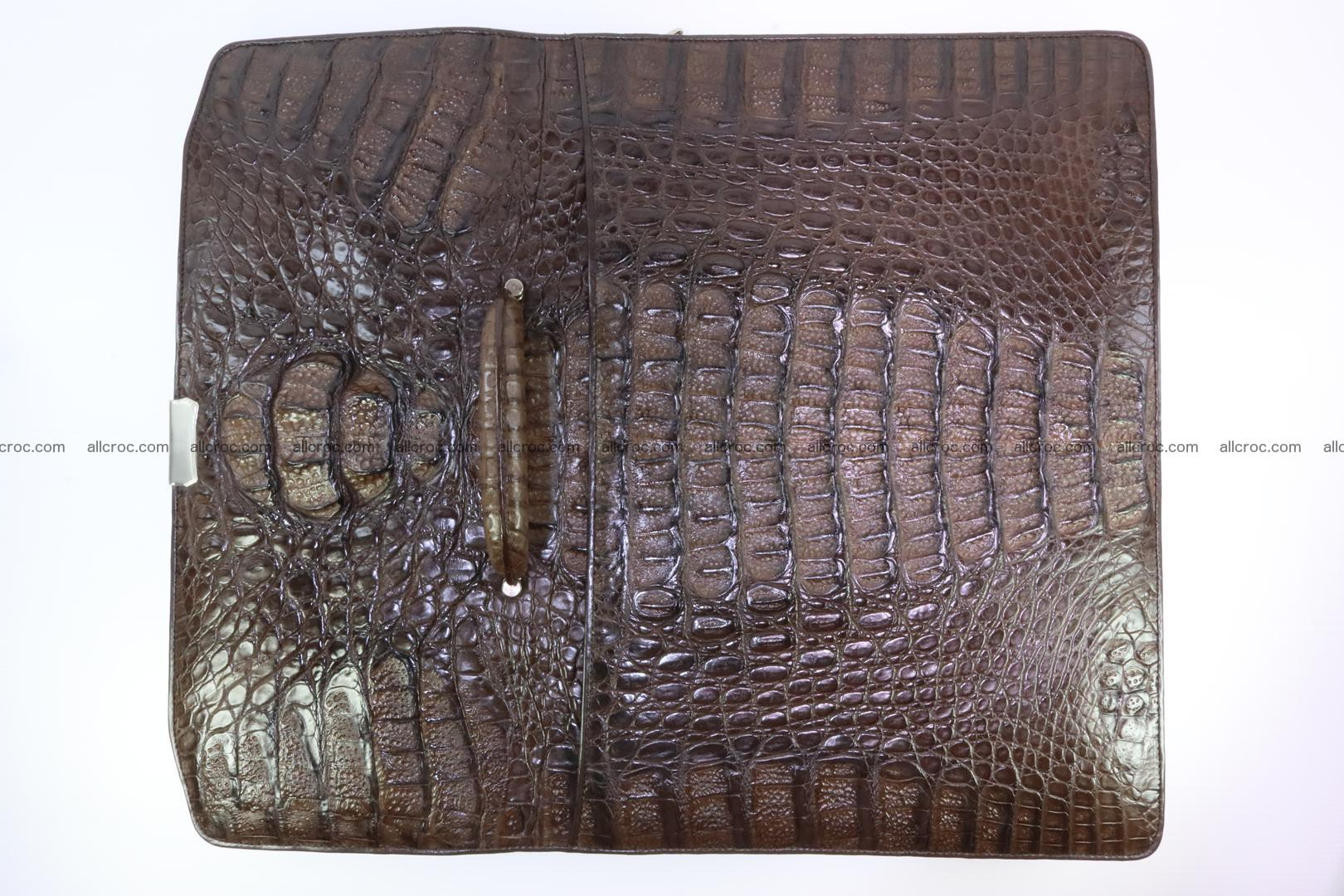 Crocodile skin briefcase 287 Foto 9