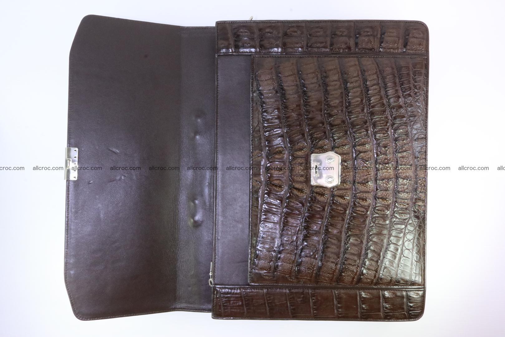 Crocodile skin briefcase 287 Foto 10