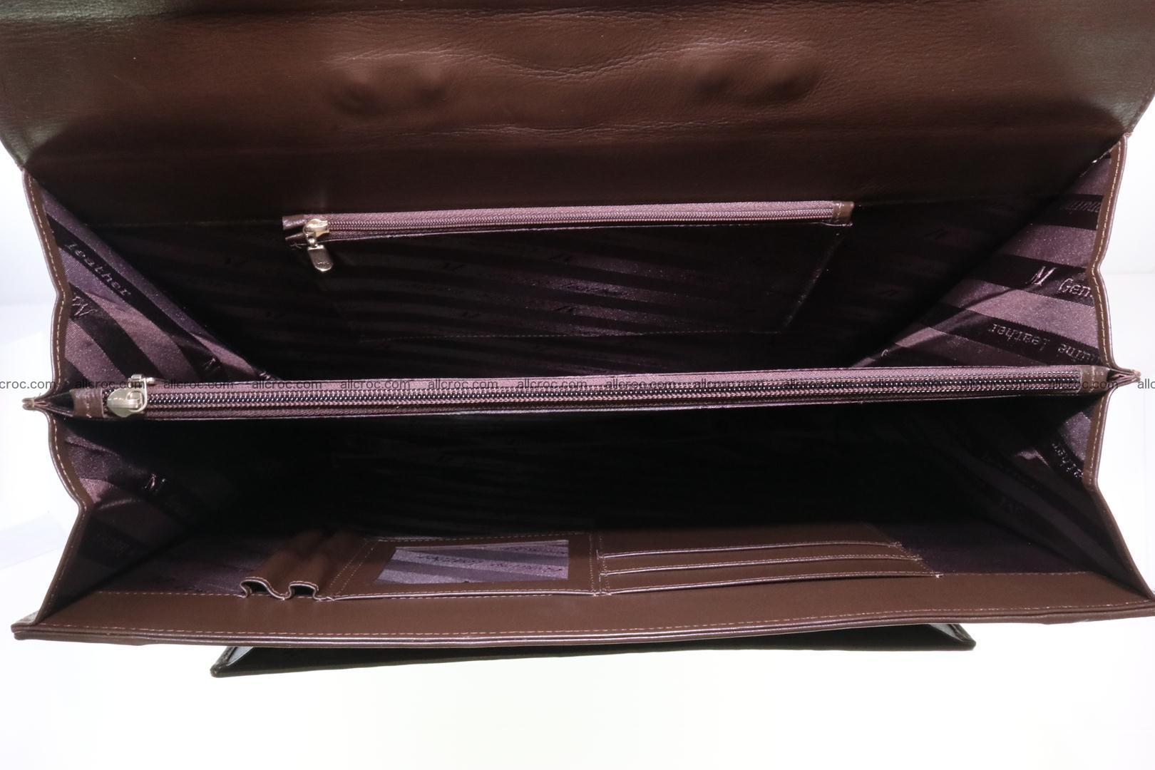 Crocodile skin briefcase 287 Foto 16