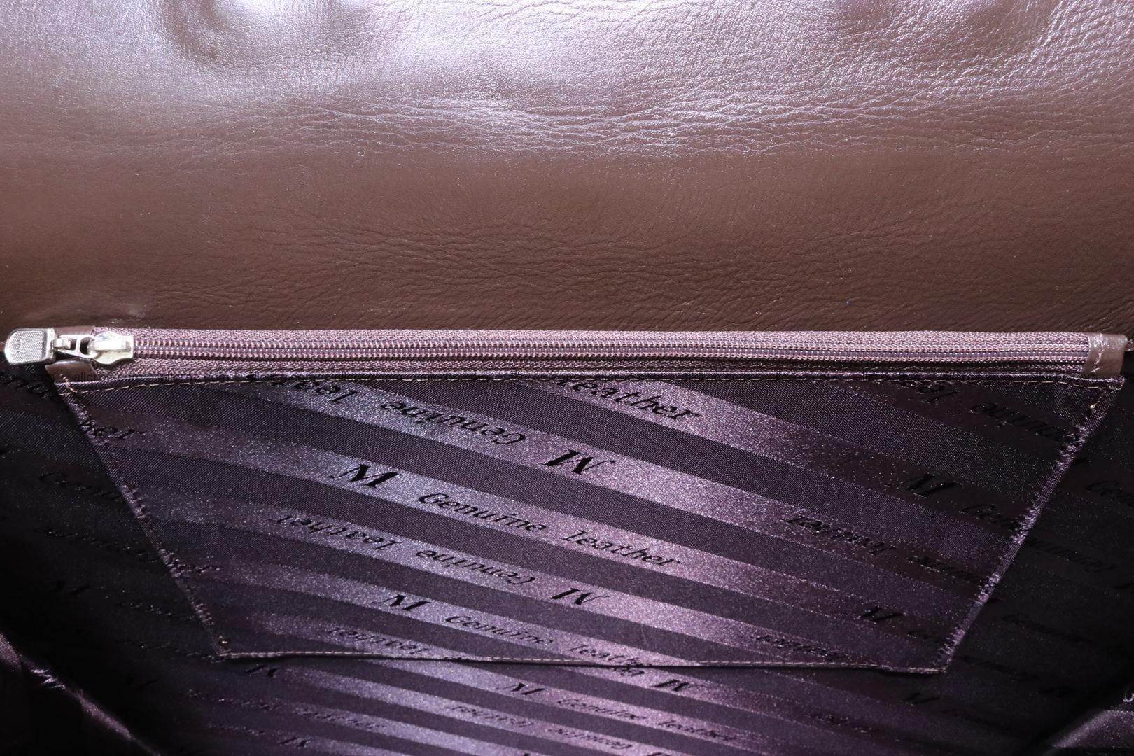 Crocodile skin briefcase 287 Foto 17