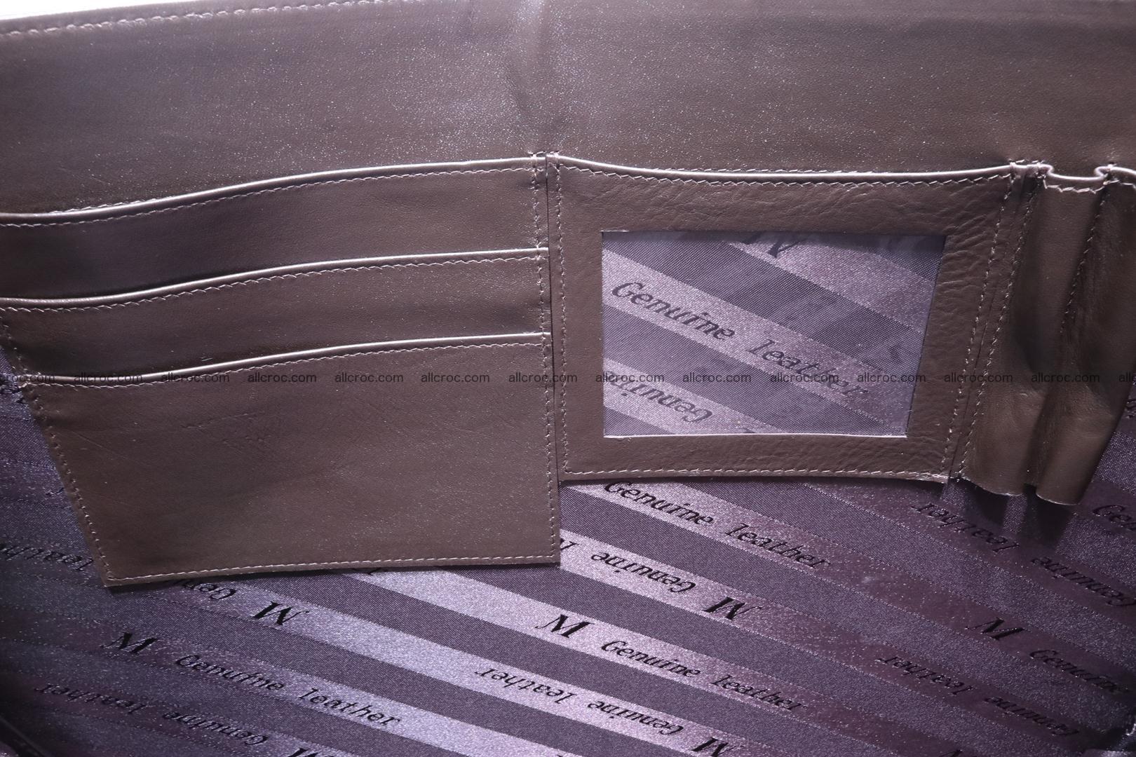 Crocodile skin briefcase 287 Foto 18