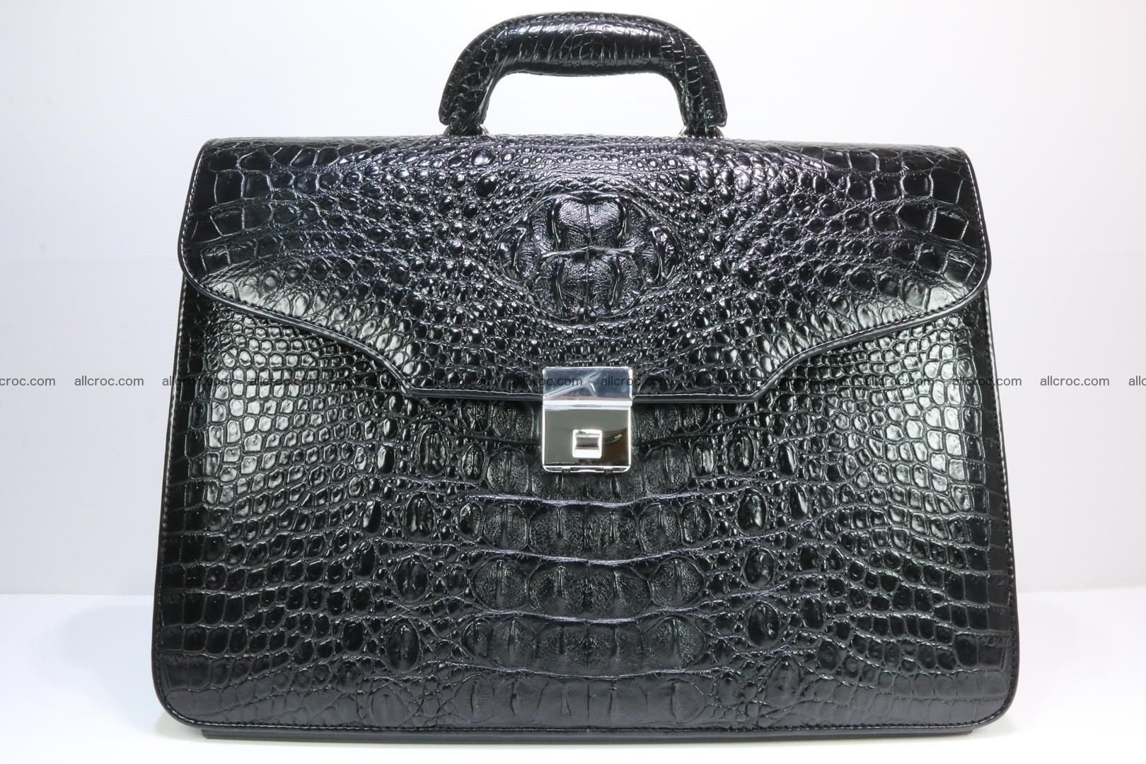 Crocodile skin briefcase 282 Foto 0