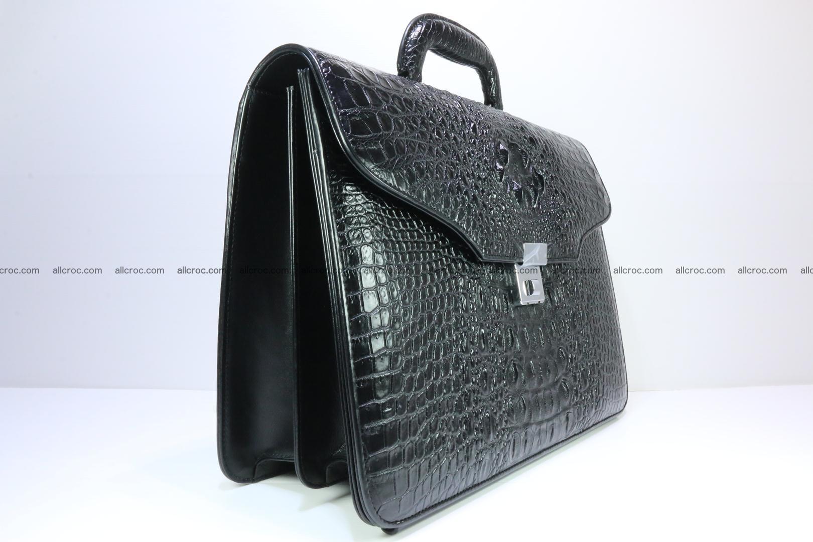 Crocodile skin briefcase 282 Foto 1