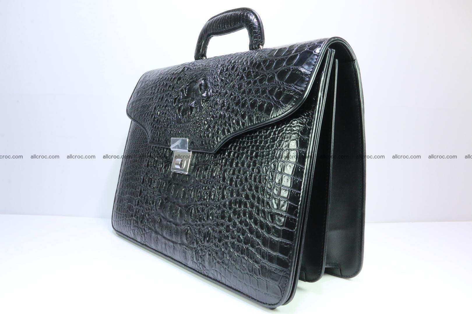 Crocodile skin briefcase 282 Foto 2