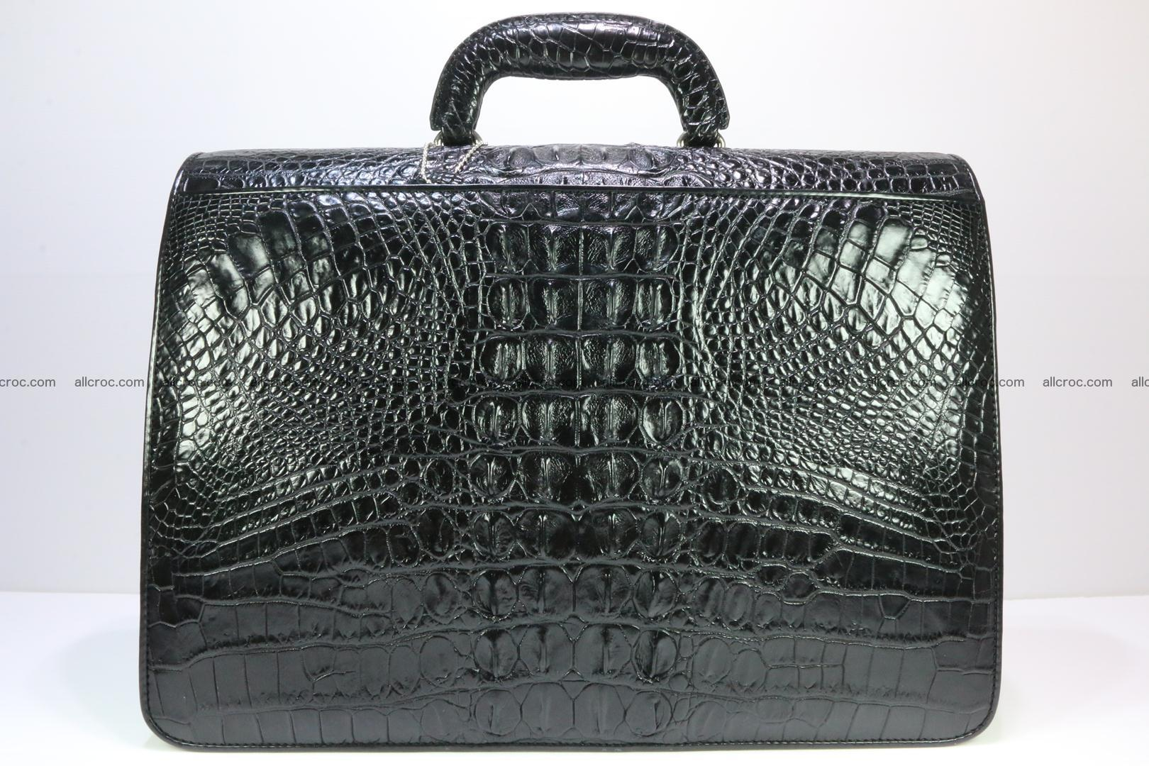 Crocodile skin briefcase 282 Foto 3