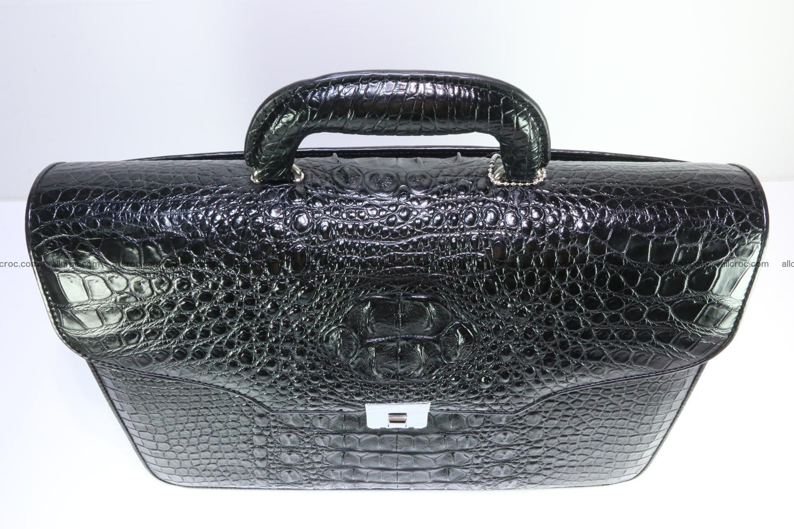 Crocodile skin briefcase 282 Foto 4