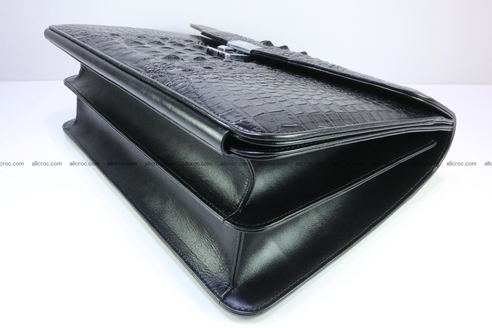 Crocodile skin briefcase 282 Foto 9