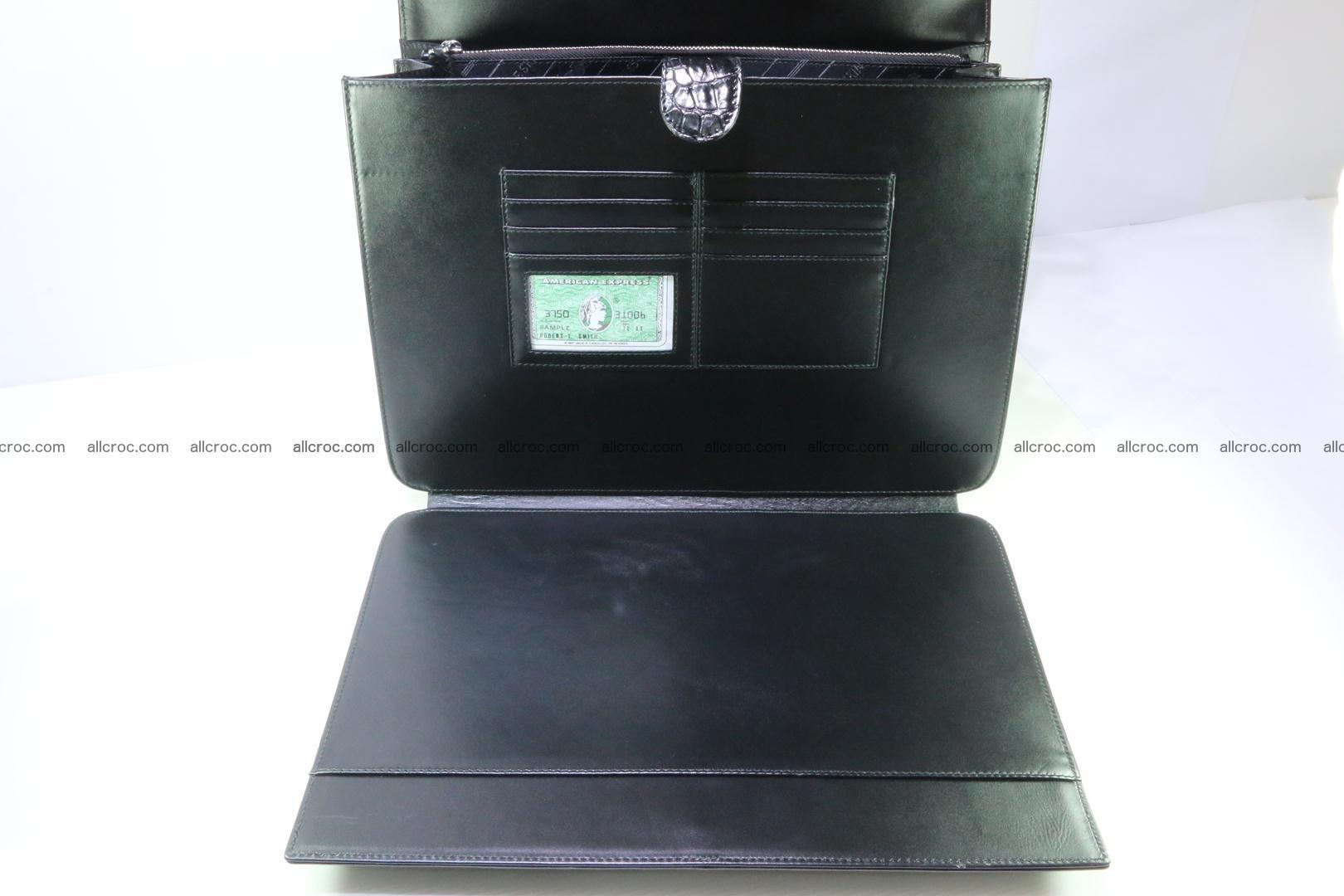 Crocodile skin briefcase 282 Foto 12