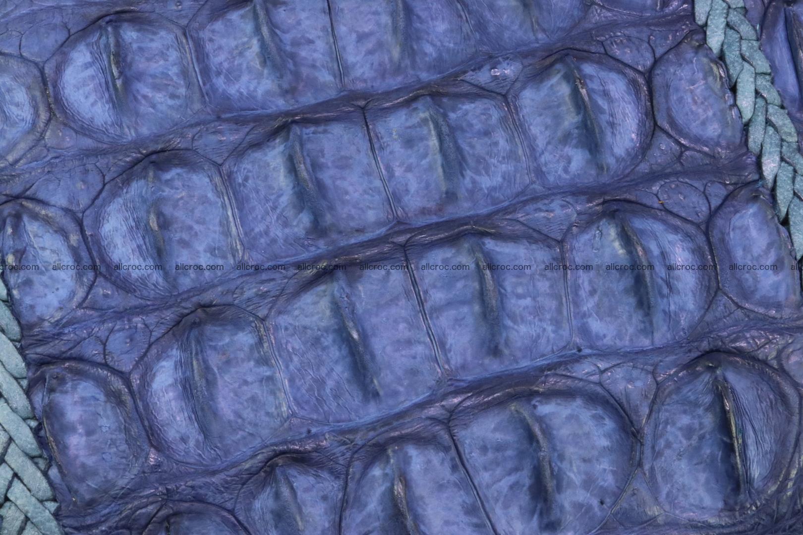 Crocodile clutch for men from genuine hornback crocodile leather 158 Foto 4