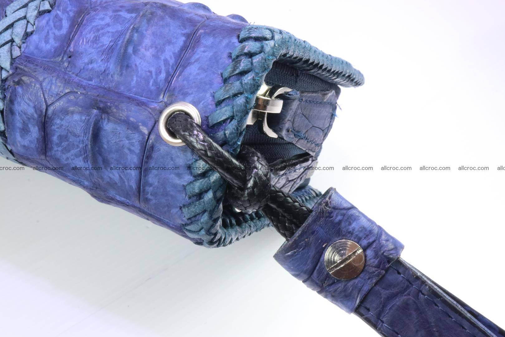 Crocodile clutch for men from genuine hornback crocodile leather 158 Foto 6