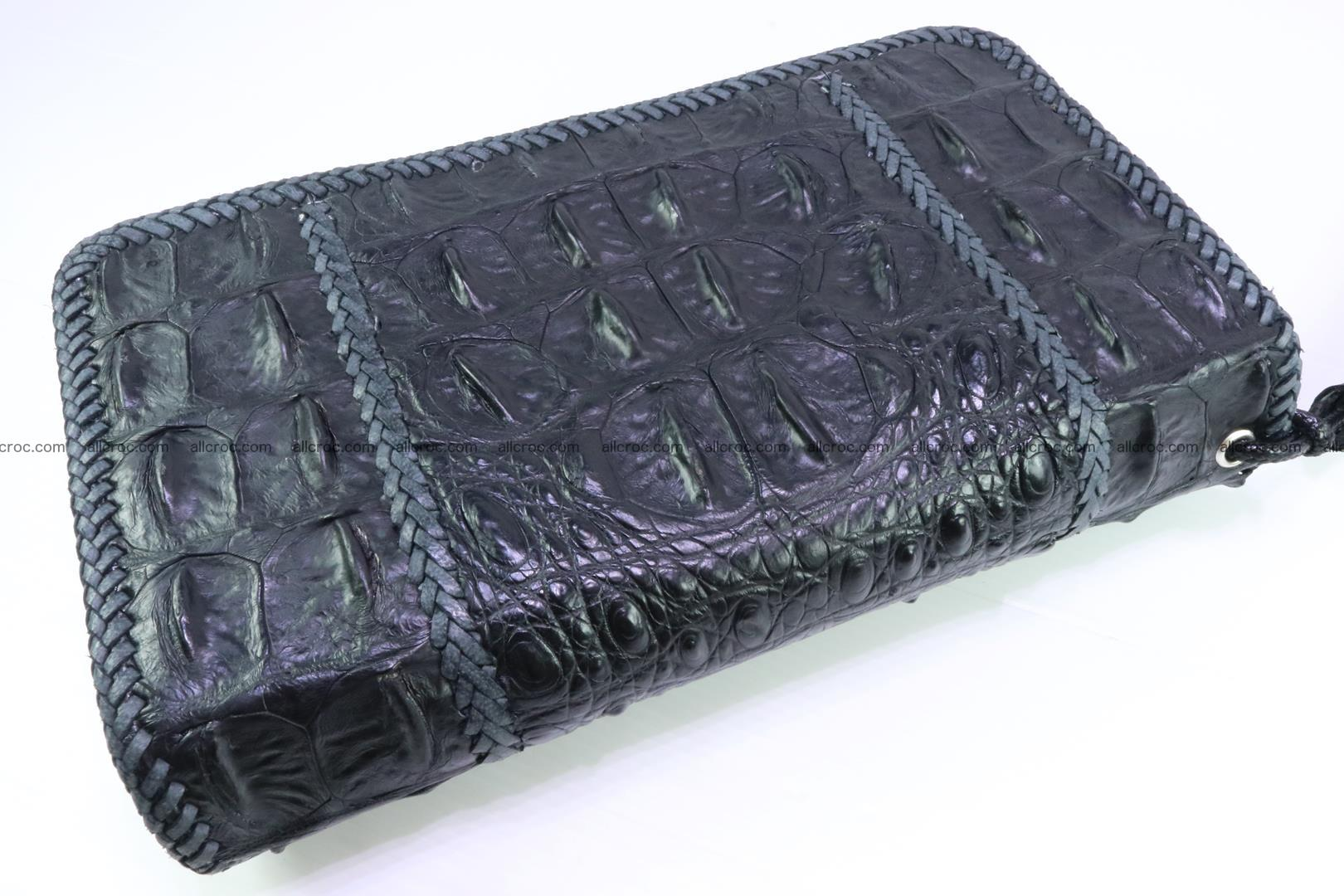 Crocodile clutch for men from genuine hornback crocodile leather 160 Foto 1