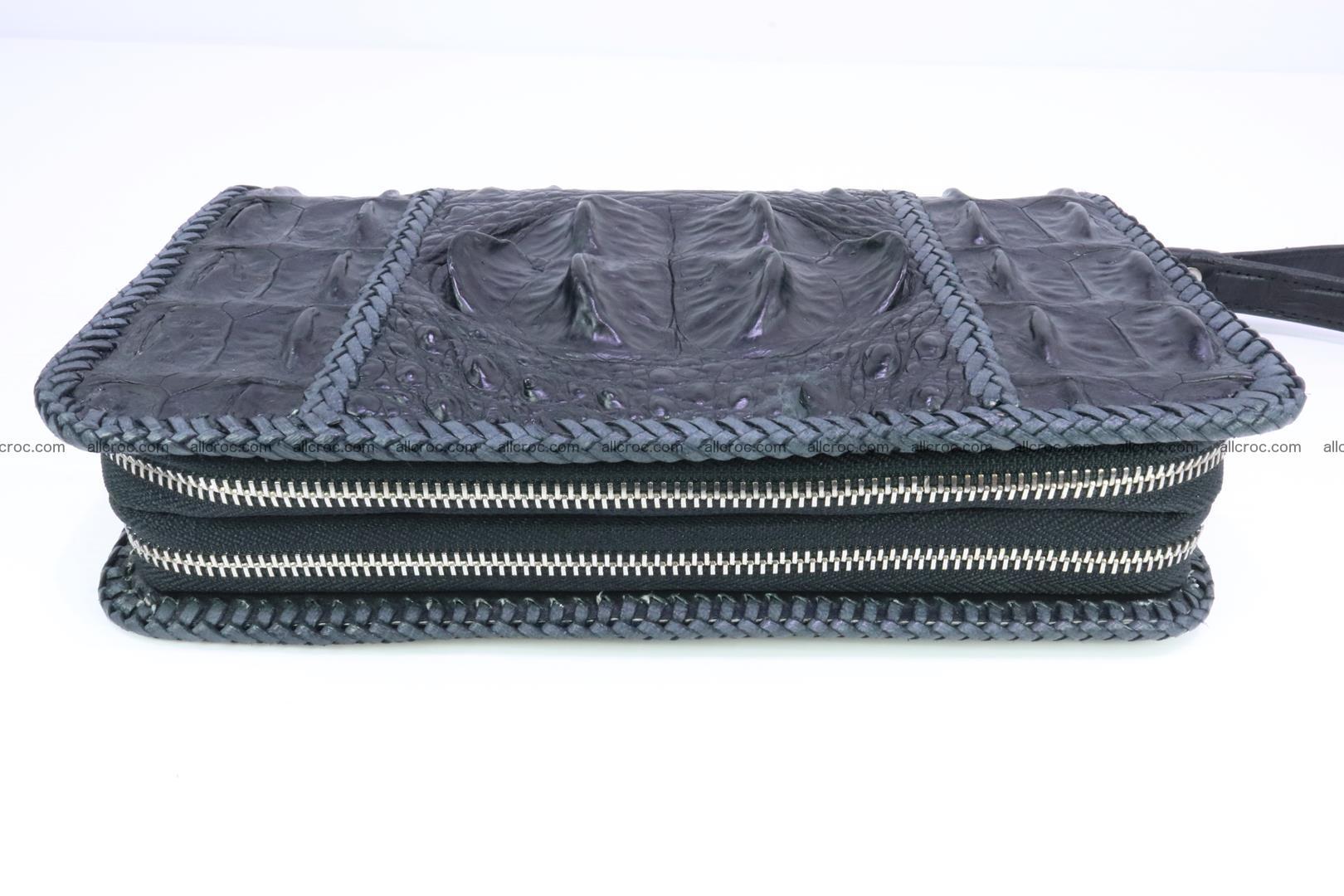 Crocodile clutch for men from genuine hornback crocodile leather 160 Foto 2