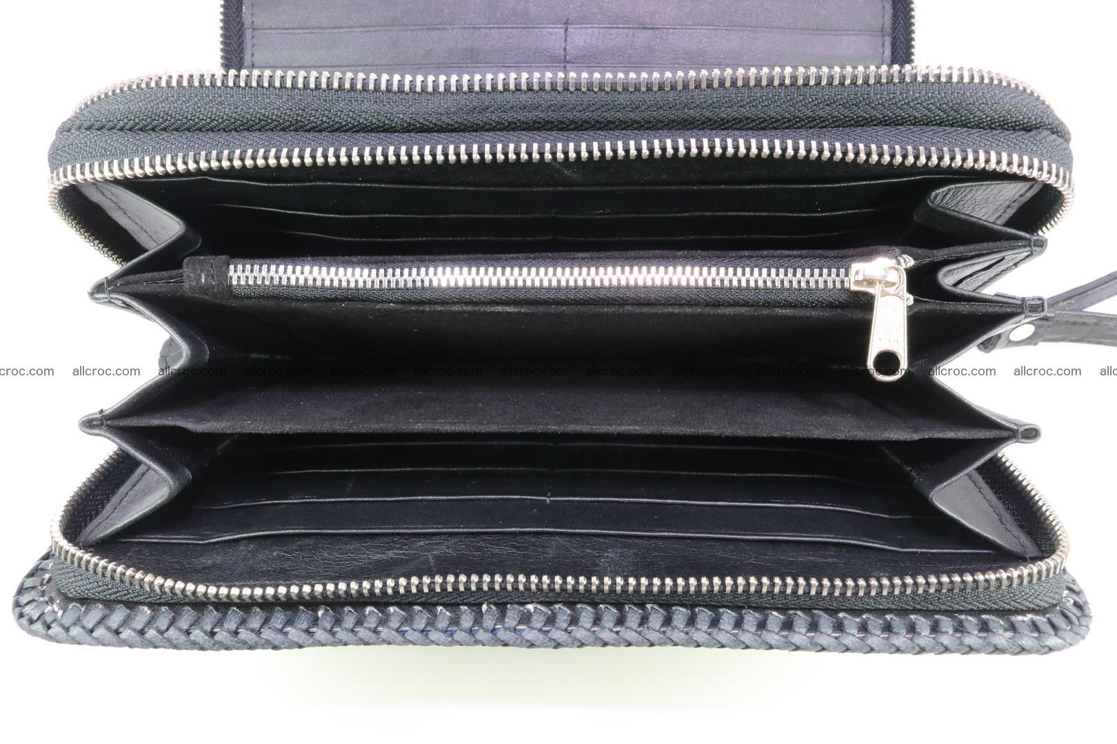 Crocodile clutch for men from genuine hornback crocodile leather 160 Foto 10