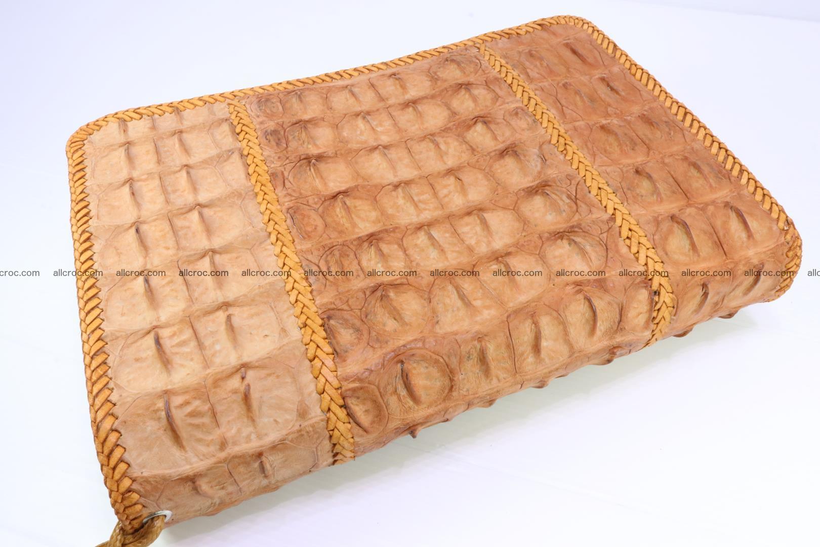 Crocodile skin clutch 161 Foto 1