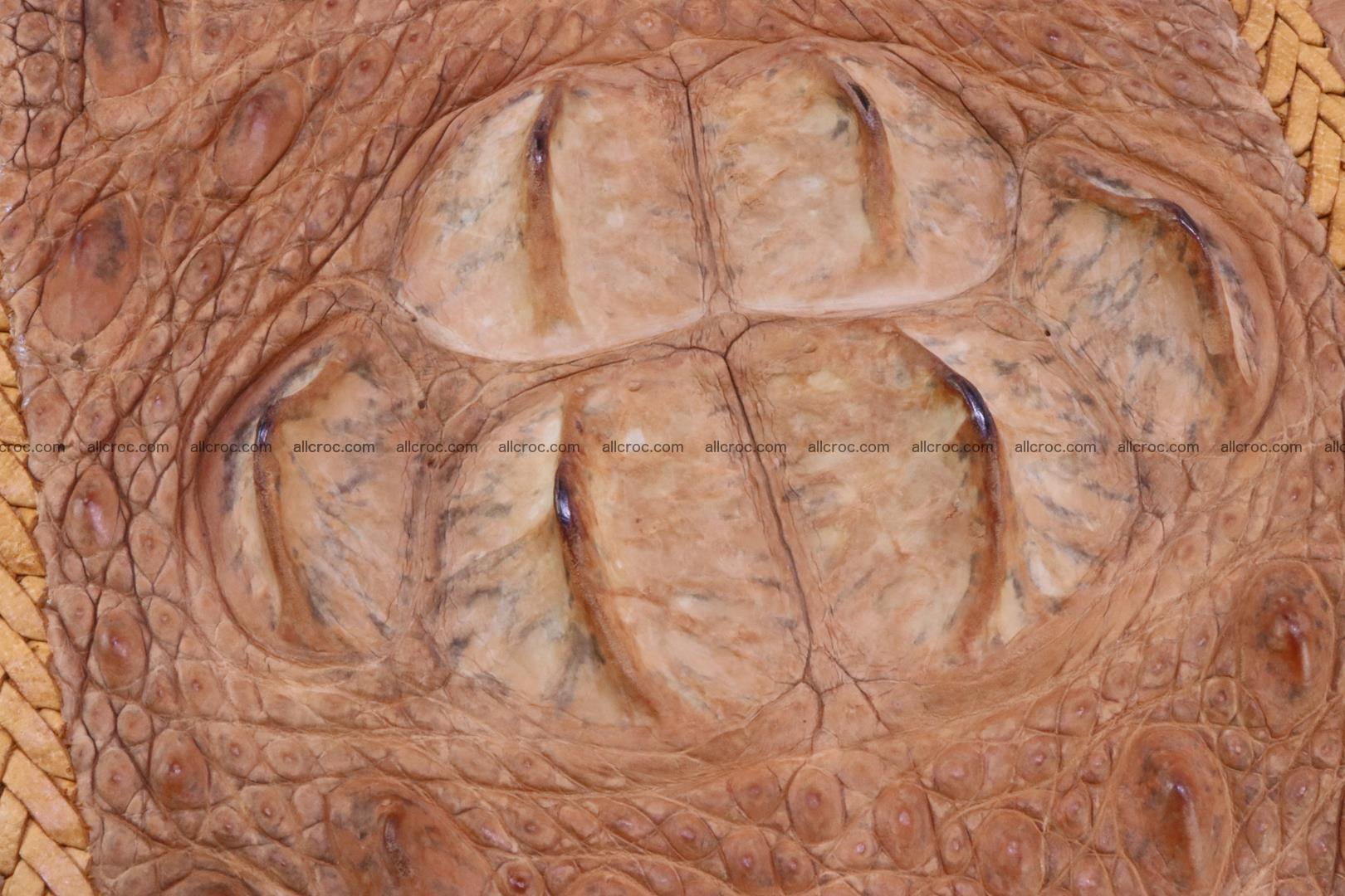 Crocodile skin clutch 161 Foto 3