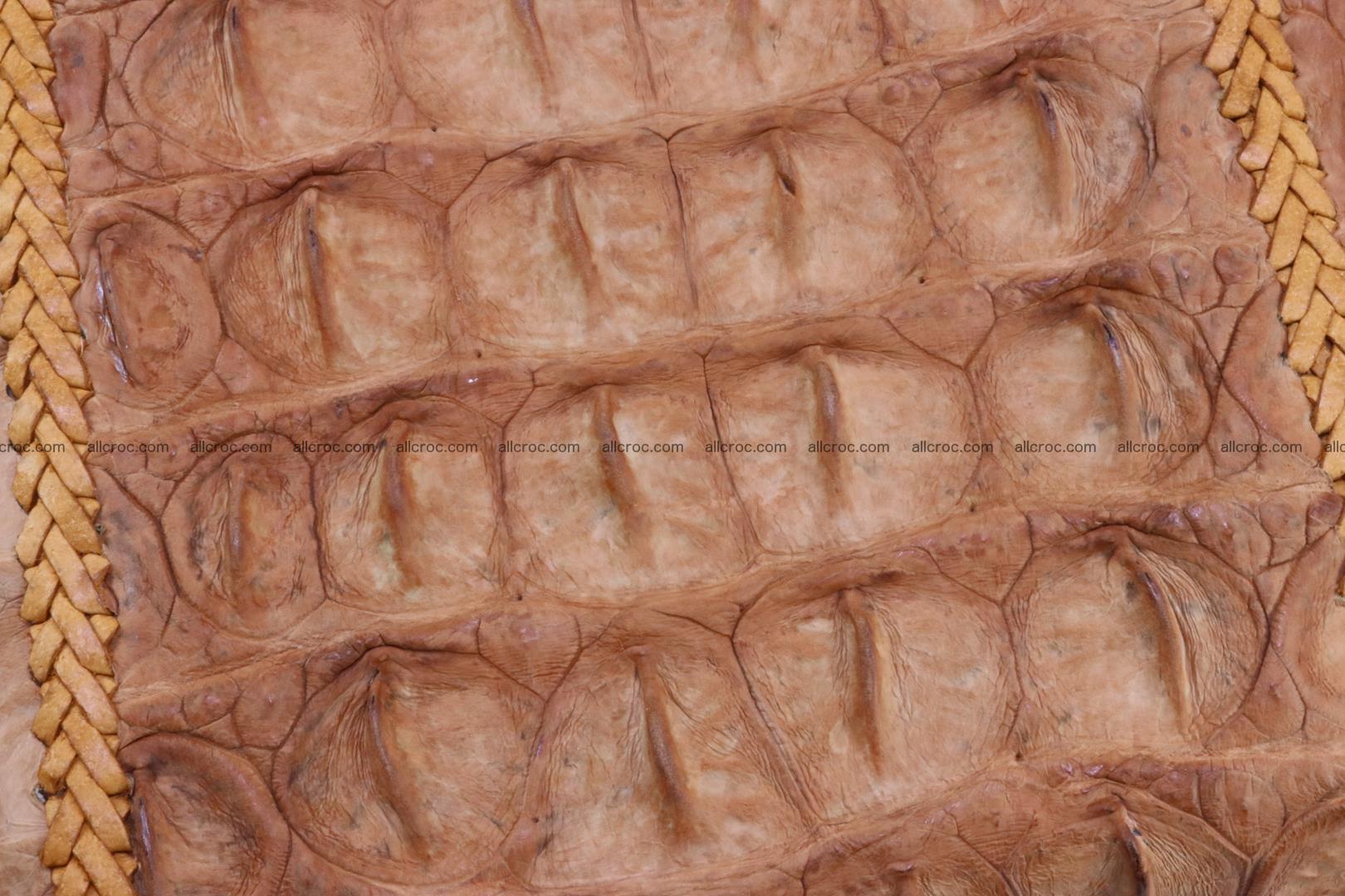 Crocodile skin clutch 161 Foto 4