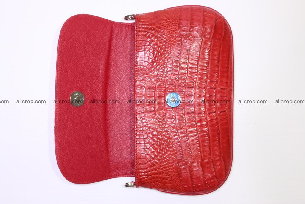 Crocodile ladies clutch 405 Foto 6