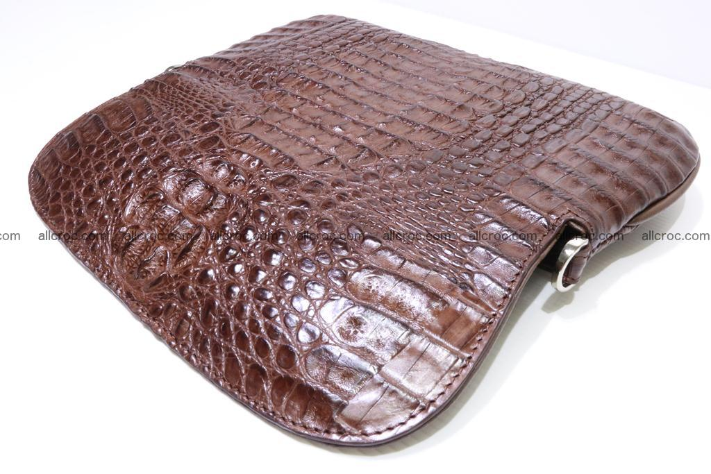 Crocodile ladies clutch 407 Foto 12
