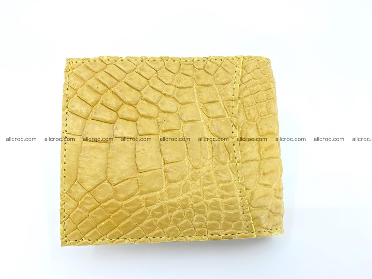 Crocodile leather money clip 936 Foto 1