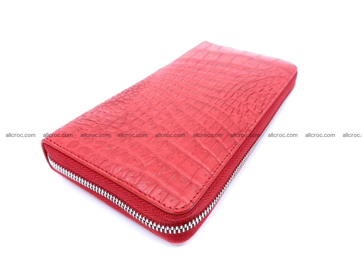 Crocodile skin zip wallet 531 Foto 1