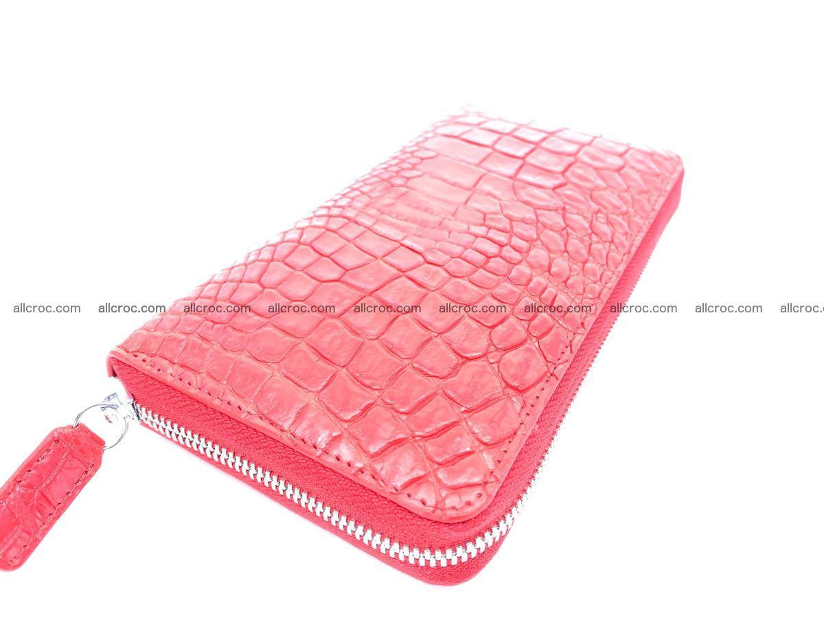 Crocodile skin zip wallet 531 Foto 0