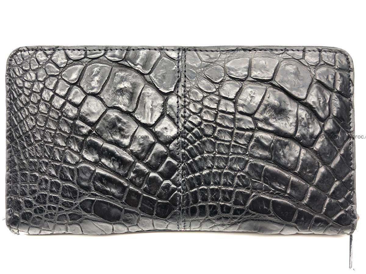 Crocodile leather wallet 1 zip 532 Foto 0