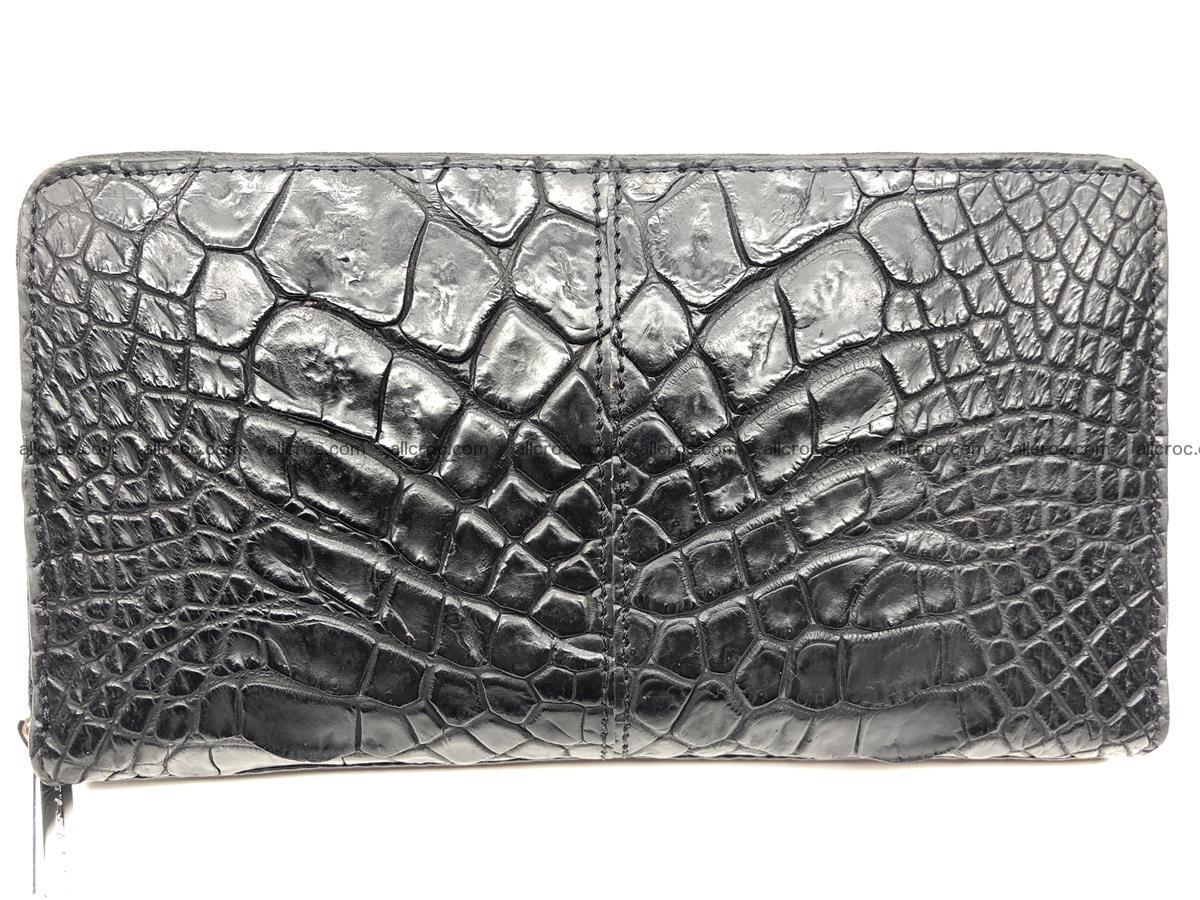 Crocodile leather wallet 1 zip 532 Foto 1