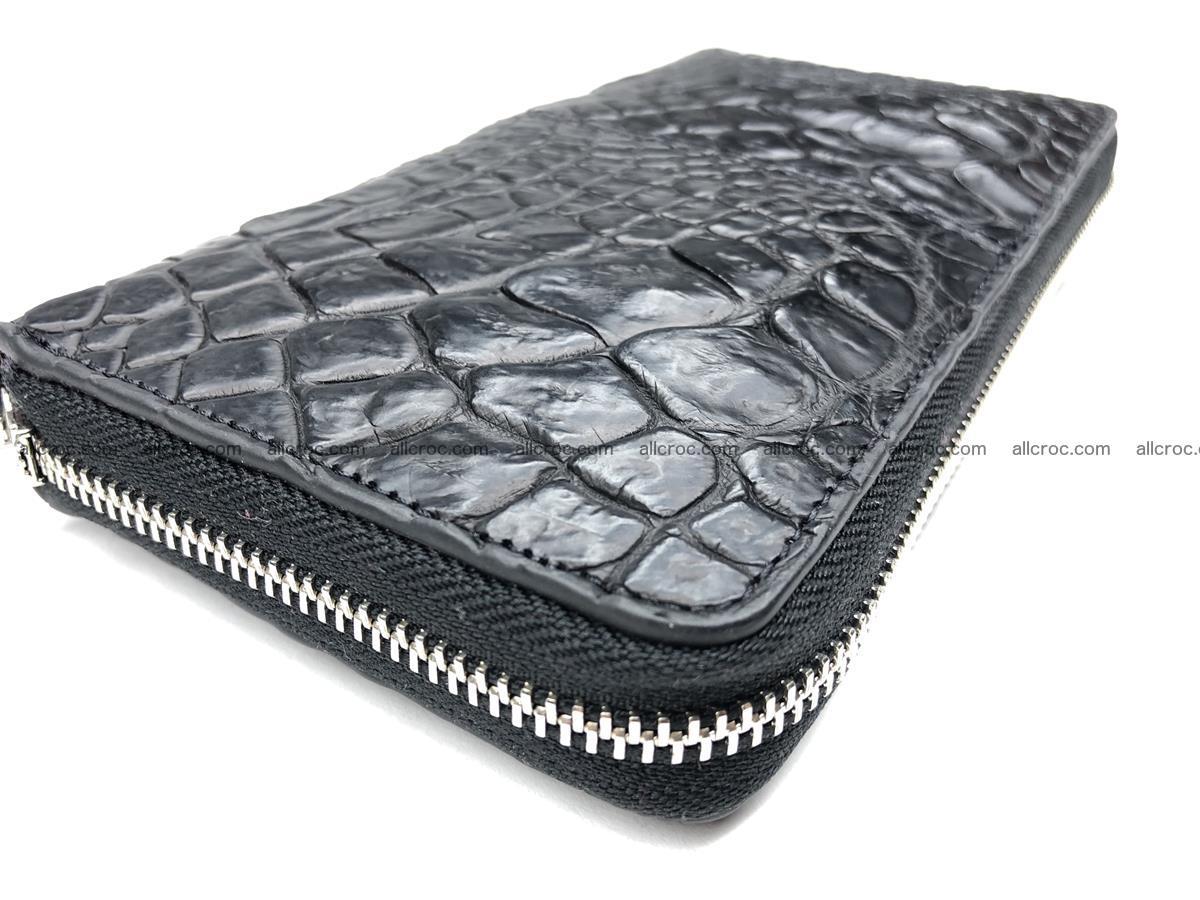 Crocodile leather wallet 1 zip 532 Foto 6