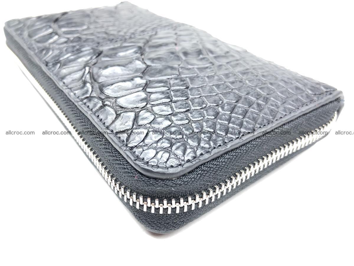Crocodile leather wallet 1 zip 532 Foto 8