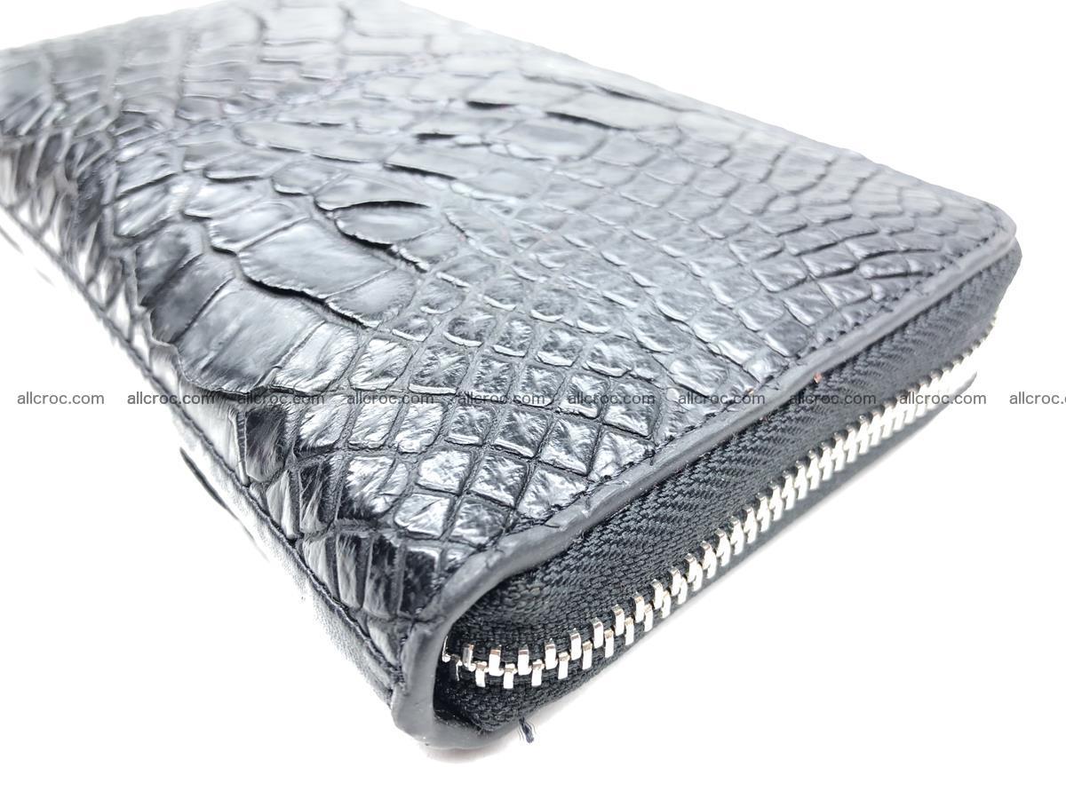 Crocodile leather wallet 1 zip 532 Foto 10