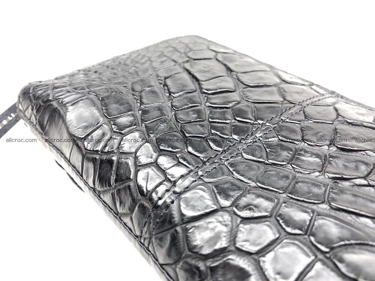 Crocodile leather wallet 1 zip 532 Foto 11