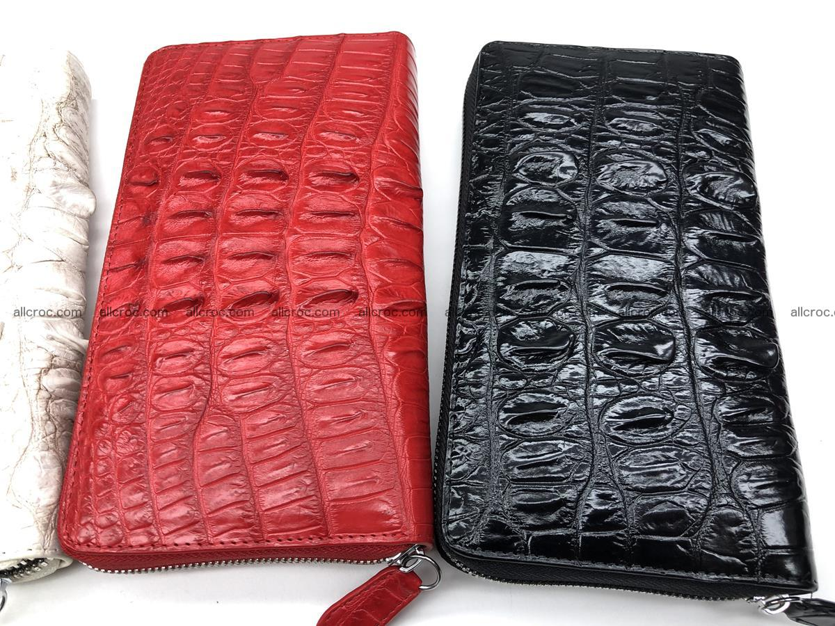 Crocodile leather wallet 1 zip 536 Foto 20