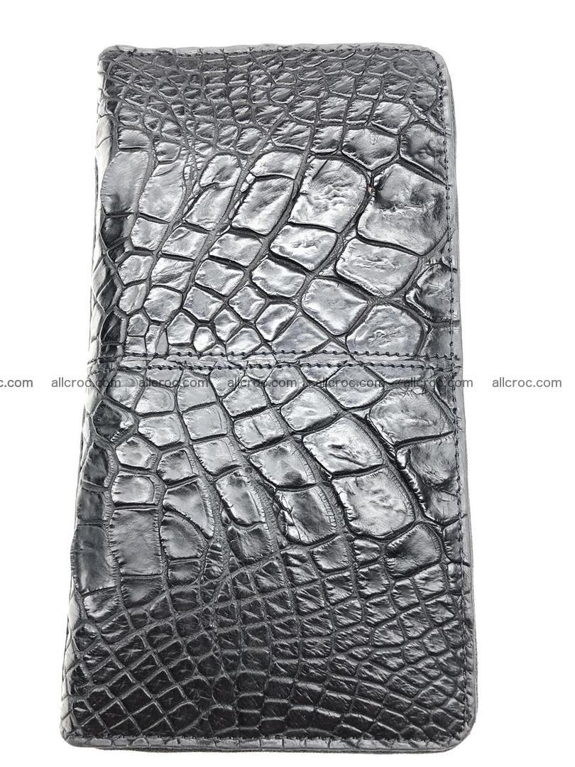 Crocodile leather wallet 1 zip 532 Foto 2