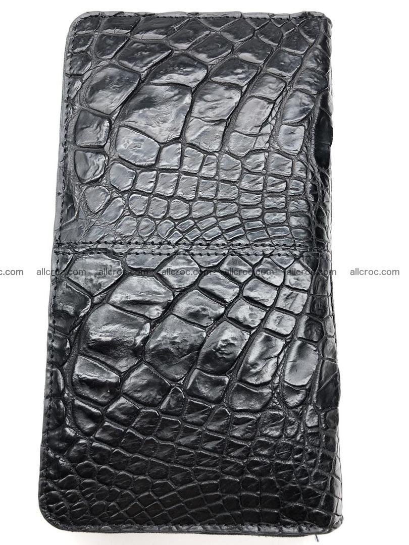Crocodile leather wallet 1 zip 532 Foto 3