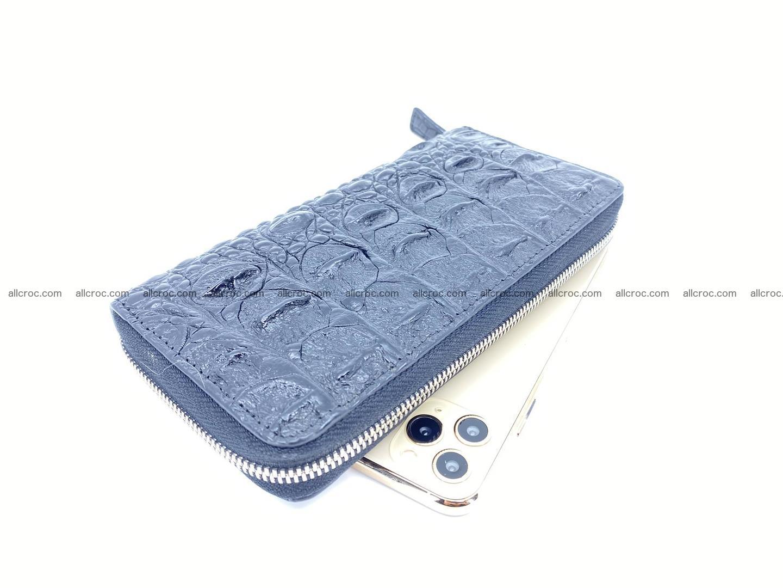 Crocodile skin zip wallet 529 Foto 0