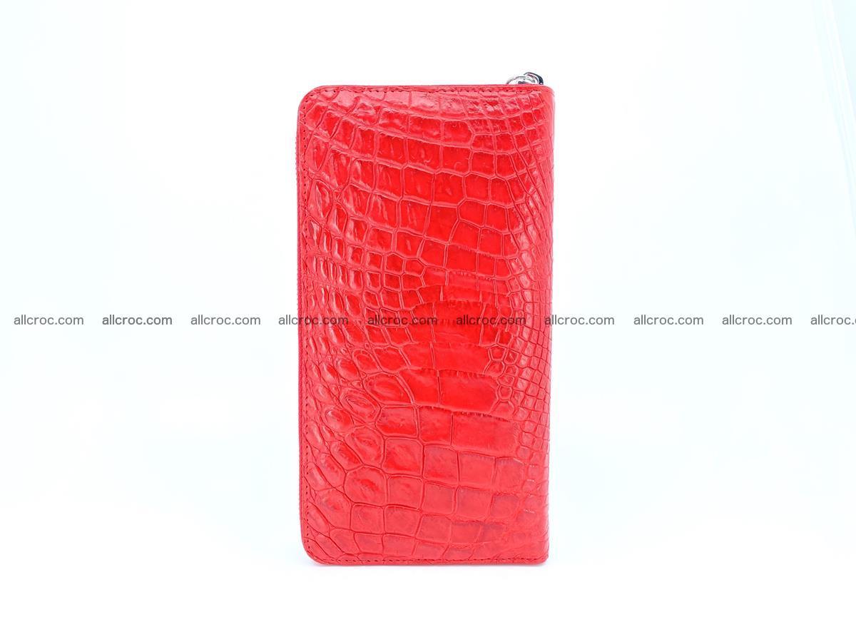 Crocodile skin zip wallet 531 Foto 5