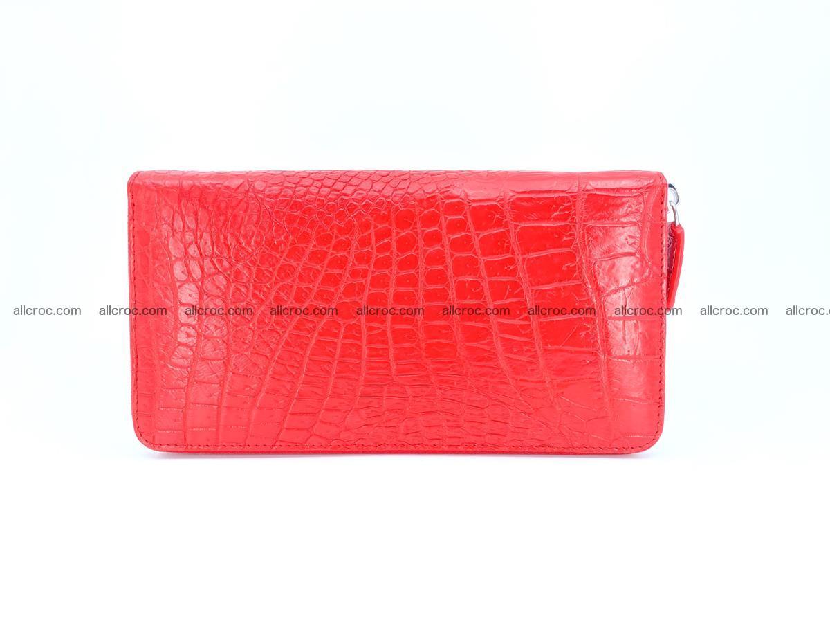 Crocodile skin zip wallet 531 Foto 3